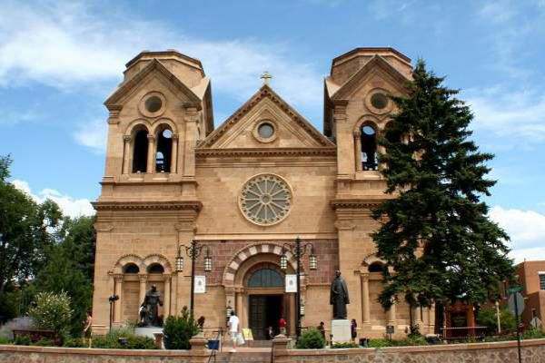 The Cathedral of St. Francis in Santa Fe.