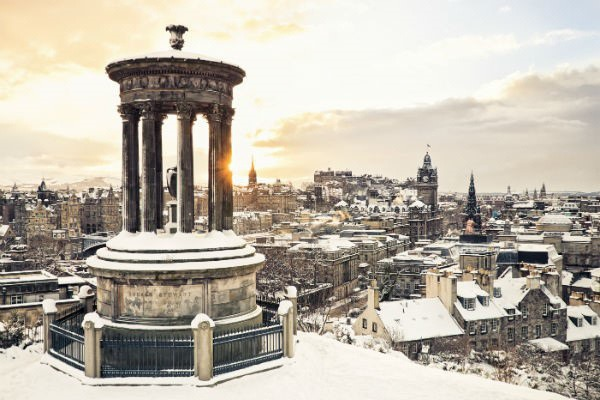 Winter brings all kinds of lively events and attractions to Edinburgh