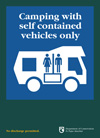 Self contained motorhomes only