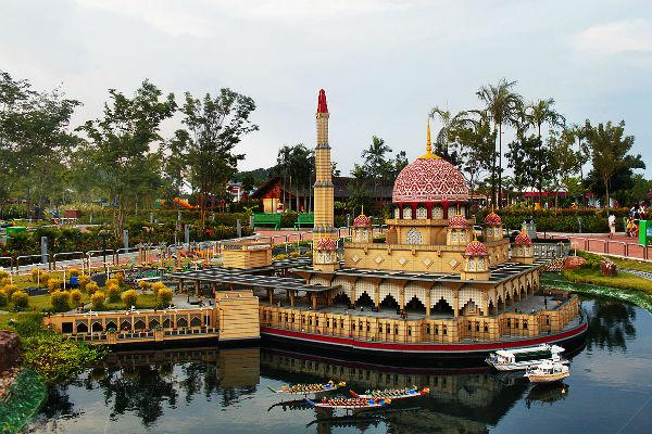 Legoland is one of Johor Bahru's most famous attractions.