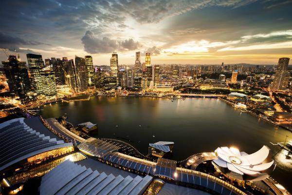 Singapore's Marina Bay is an urban delight