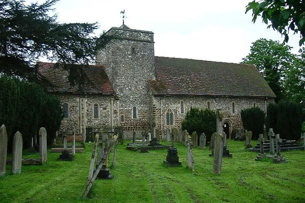 The 900-year-old St Laurence Church stands proudly as the oldest building in Slough, United Kingdom