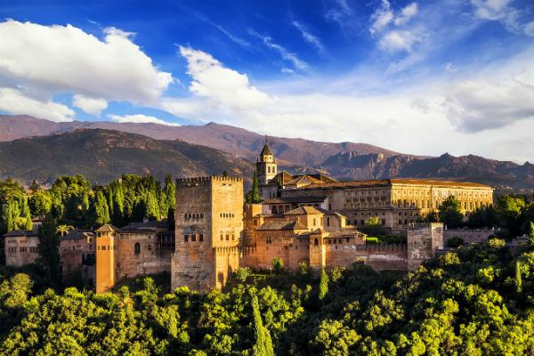 Alhambra is a spectacular fortress located in Andalusia, in southern Spain.