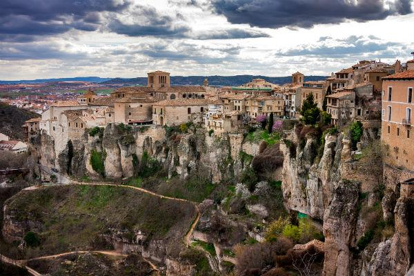 Cuenca is visually spectacular both from a distance and up close.