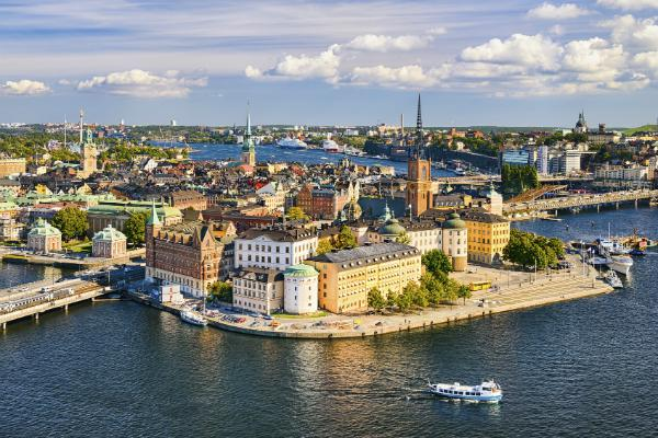 Stockholm's Gamla Stan is a great place to stroll