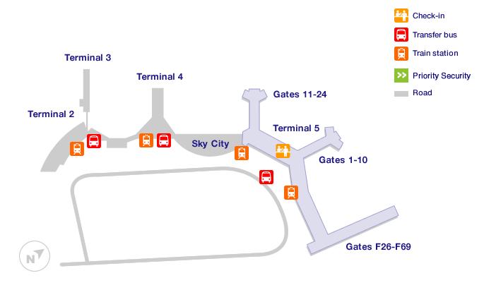 Stockholm Arlanda airport terminals