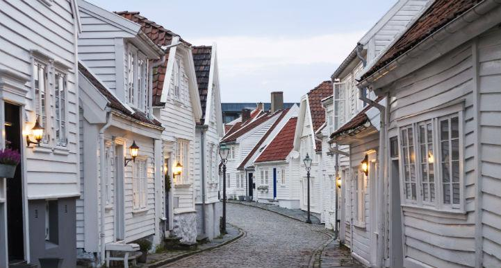 Take the opportunity to get a little lost on the winding streets of Stavanger.