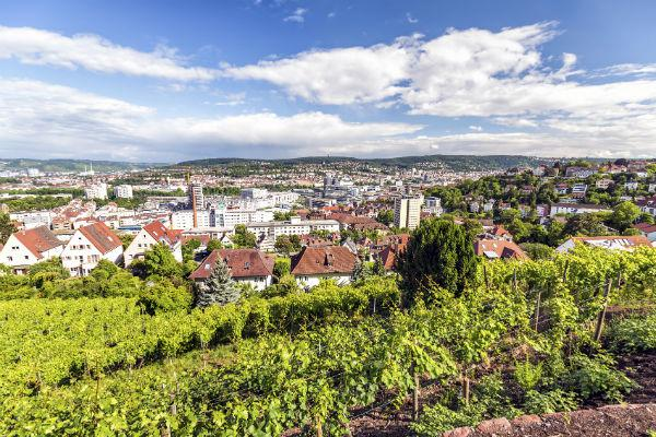 Stuttgart is a surprisingly green city - it won't take you long to find a serene space in which to relax.