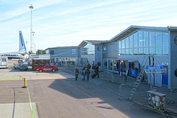 Terminal at the Stockholm Skavsta Airport