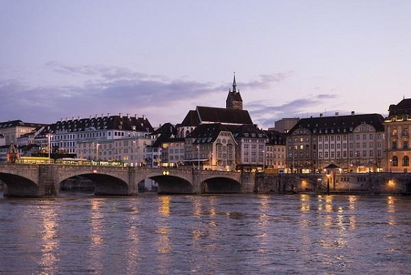 Basel is based around the mighty Rhine River