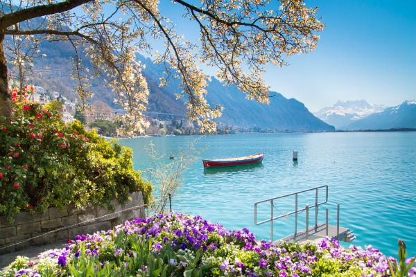 Lake Geneva is the city's natural gem