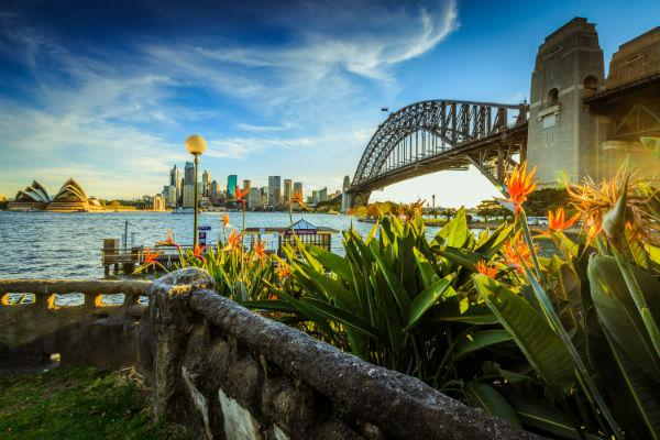 For those arriving in the city, the scenic treats of Sydney harbour are just the beginning.