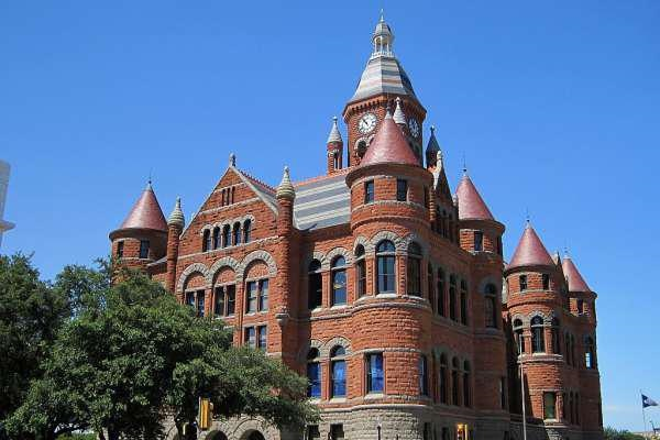 The famous Dallas county courthouse