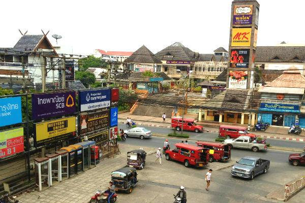 Try to avoid rush hours, as traffic can get pretty hectic in Chiang Mai.