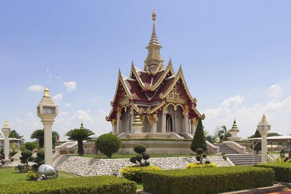 The City Pillar Shrine, Udon Thani, Thailand