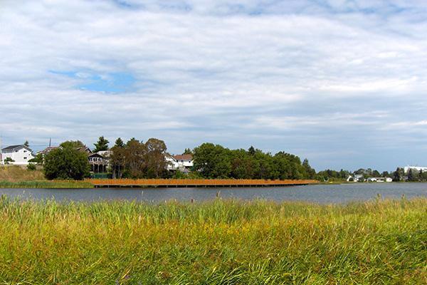 Gilles Lake Boardwalk in Timmins, Ontario