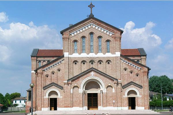 Monastier Treviso (a large cathedral) in Treviso, Italy