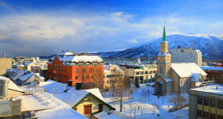 Tromso is as lively as it is beautiful.