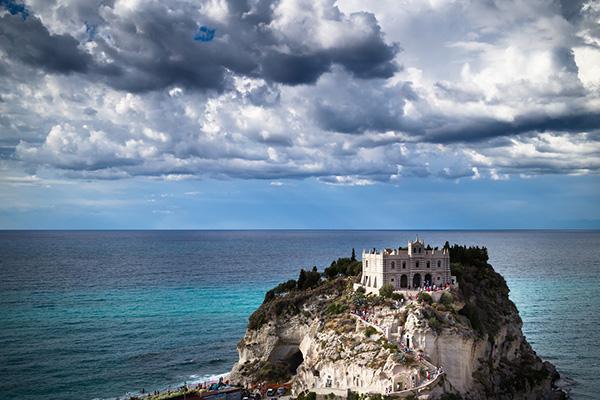 Santa Maria Dell'isola in Tropea, Calabria