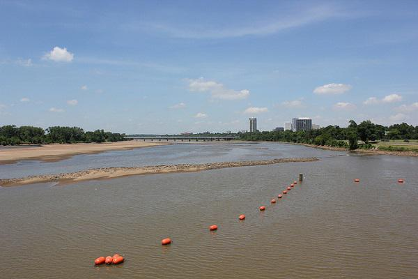 Tulsa sits on the banks of the Arkansas River