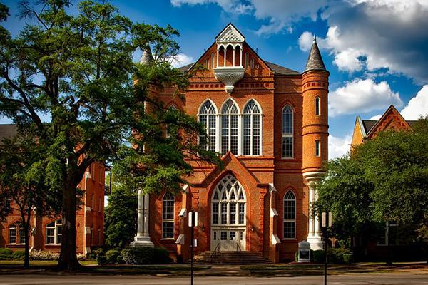 The University of Alabama looking grand in Tuscaloosa, Alabama
