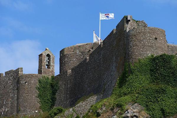 Mont Orgueil Castle on Jersey, Channel Islands