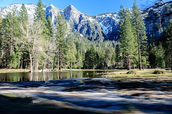 The iconic mountains and wilderness of Yosemite National Park