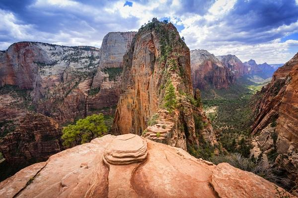 Angels Landing is one of the most adrenaline-spiking hikes in the United States.