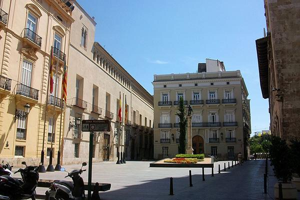 Plaza de Manises, Valencia, Spain
