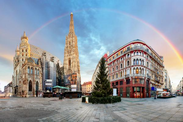 St Stephen's Cathedral is a landmark of Vienna