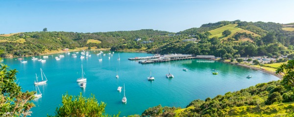 Take your Motorhome Rental across to Waiheke Island for the day