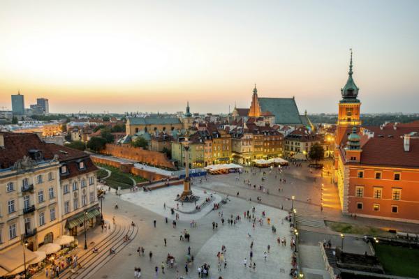 Warsaw's beautiful architecture