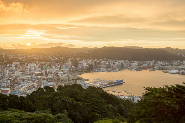 Wellington is New Zealand's political and cultural capital.