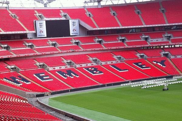 Wembley Stadium is an iconic sports venue