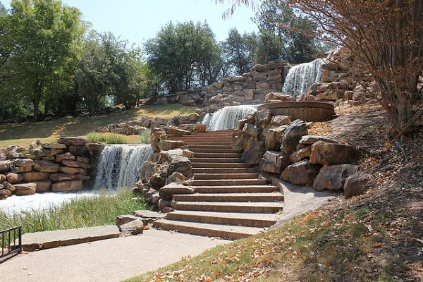 The Wichita Falls themselves, in Lucy Park