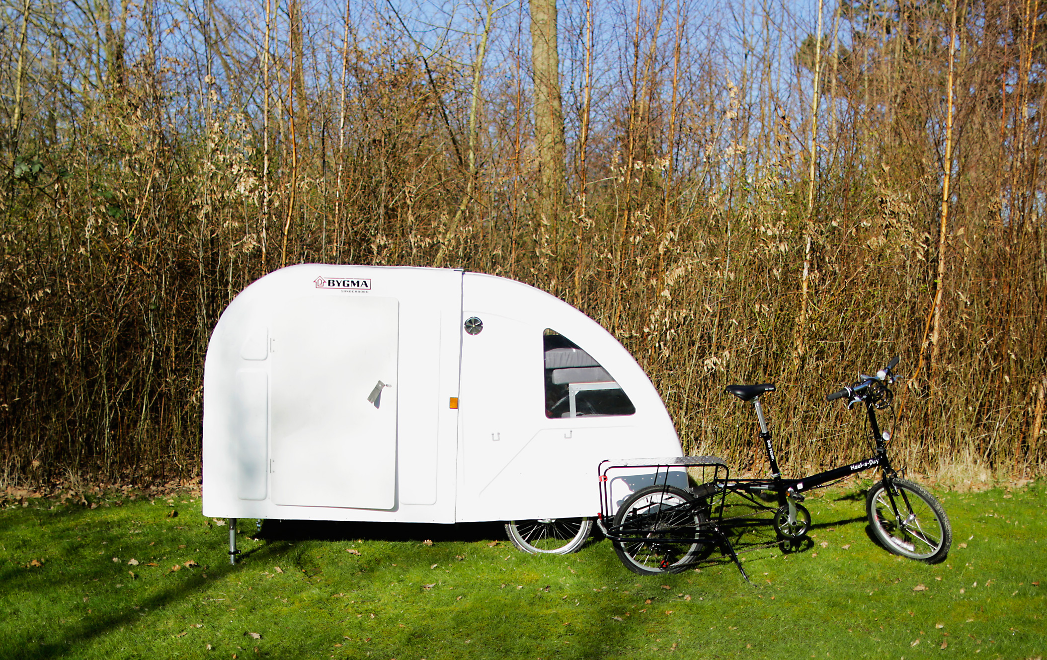 Wide PAth Camper Bike