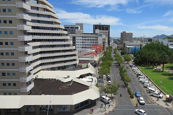 City streets of Windhoek, Namibia