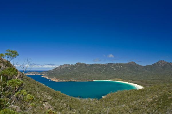 Wineglass Bay in Tasmania is one of the most gorgeous beaches on earth.