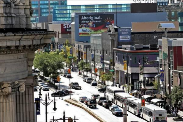 Portage Avenue is a major arterial route in the Canadian city of Winnipeg.