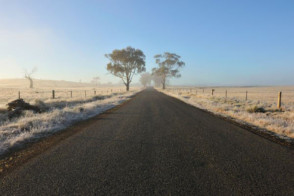 One of the best things about a winter motorhome road trip in Australia is the lack of humidity.