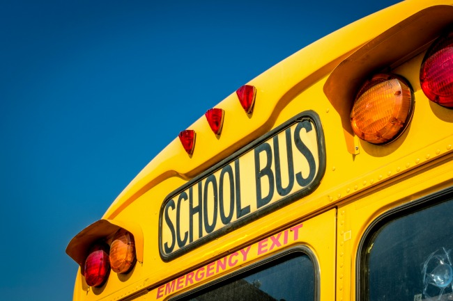 USA school bus