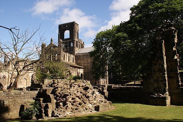 Kirkstall Abbey in Leeds, United Kingdom